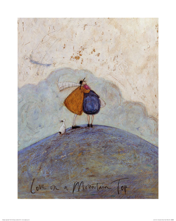 Sam Toft (Love on a Mountain Top) 40x50
