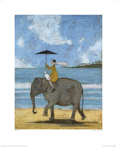 Sam Toft (On The Edge Of The Sand) 40x50