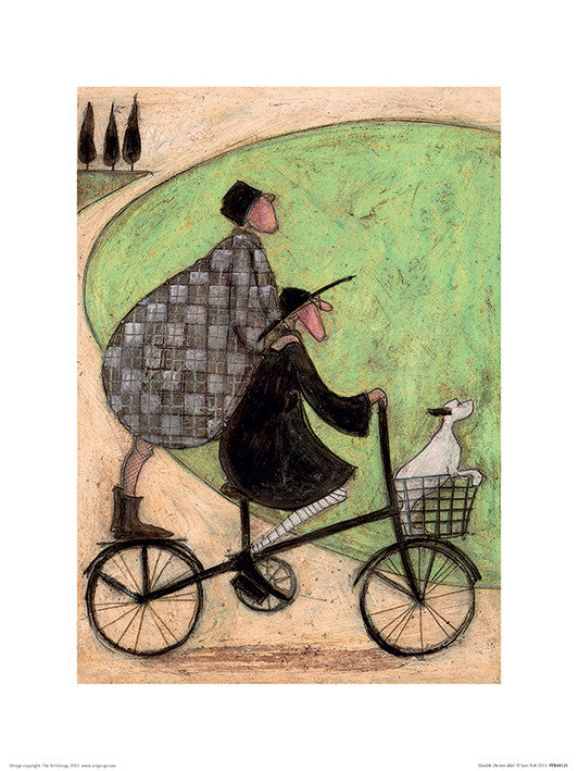 Sam Toft (Double Decker Bike) 60x80