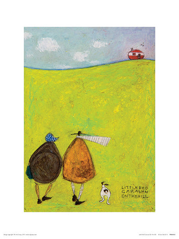 Sam Toft (Little Red Caravan On The Hill) 30x40