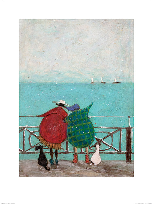 Sam Toft (We Saw Three Ships Come Sailing By) 30x40