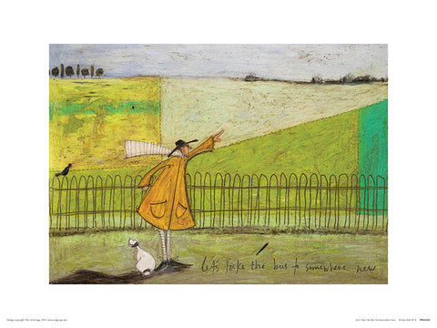 Sam Toft (Let's Take The Bus To Somewhere New) 30x40