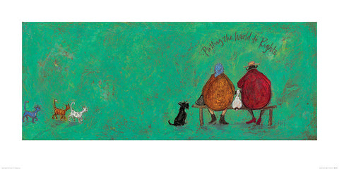 Sam Toft (Putting the World to Rights) 50x100