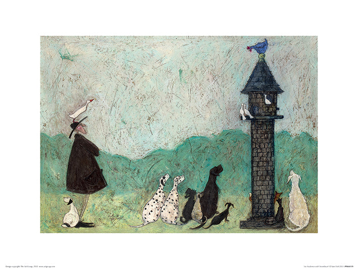 Sam Toft (An Audience with Sweetheart) 40x30