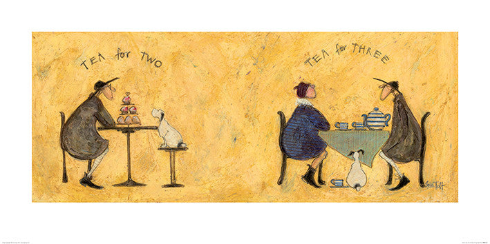 Sam Toft (Tea for Two Tea for Three) 50x100