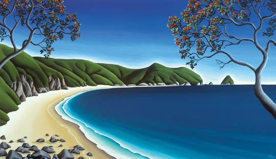 CANVAS Secluded Cove -lg Diana Adams