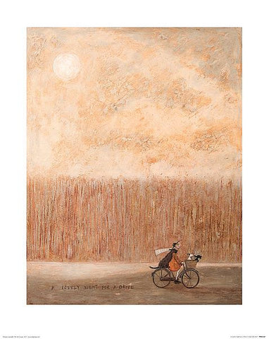 A Lovely Night for a drive size 40 x 50