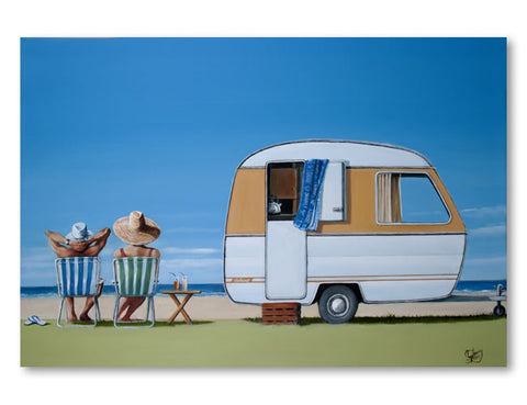 Caravan Bliss by Graham Young