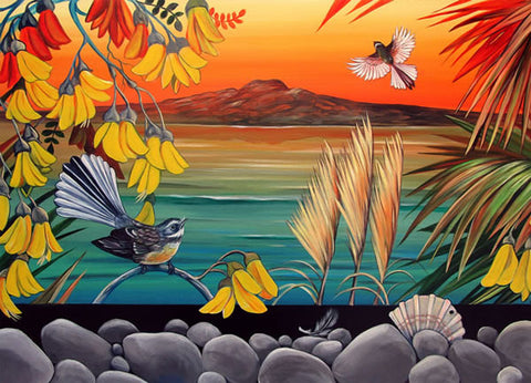 Rangitoto sunset Irina Velman