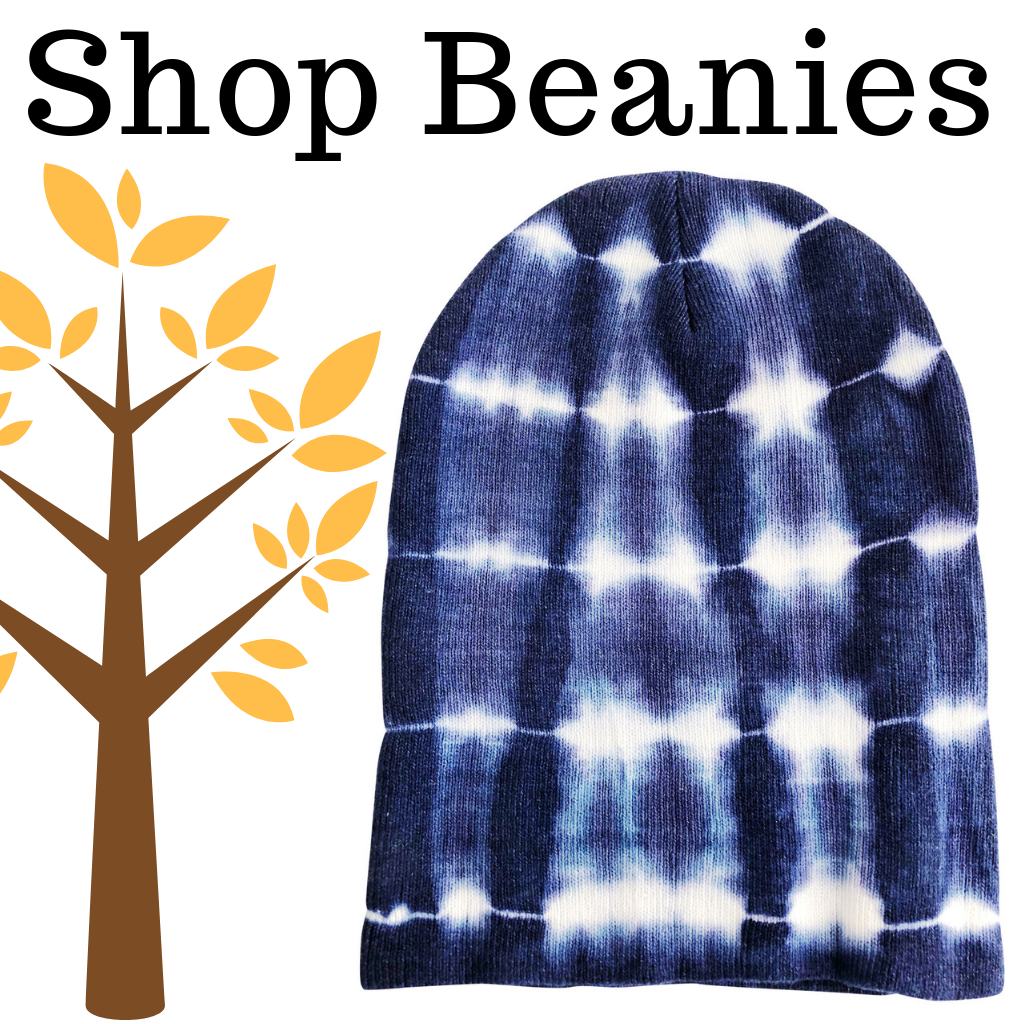 Brrr, It's Cold Outside. Shop Our Tie-Dye Beanie Hats on Amazon Prime.