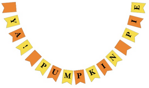 Shop Our New 2017 Thanksgiving and Christmas Party Bunting Garlands on Zazzle