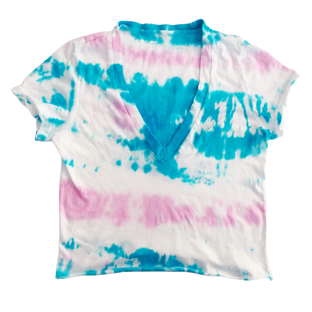 Women's Tie Dye Crop Top