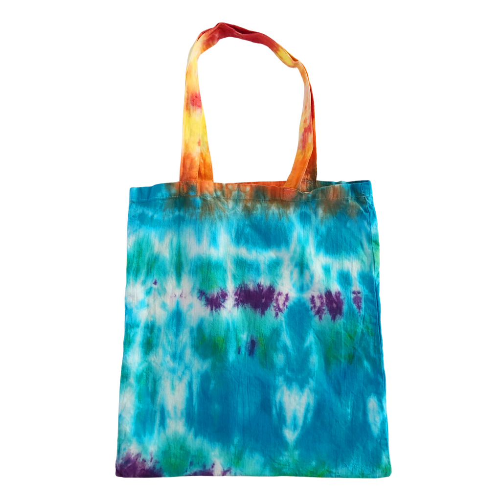Reusable Tie Dye Tote Bag