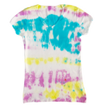 Women's V Neck Tie Dye T Shirt