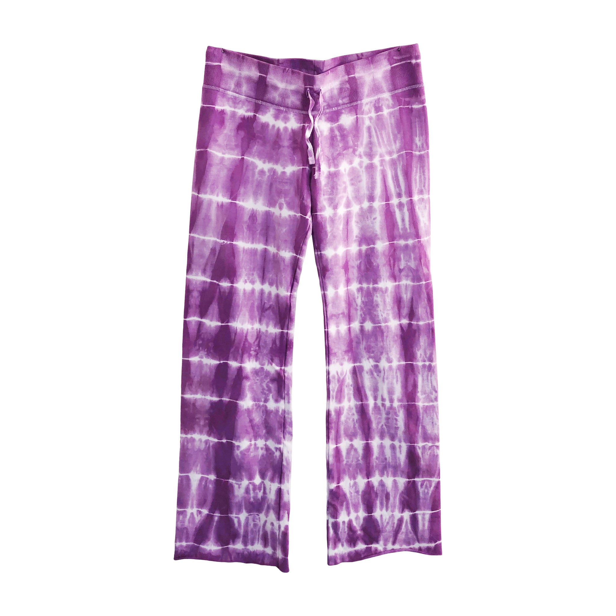 Women's Petite Blue Tie Dye Sweat Pant