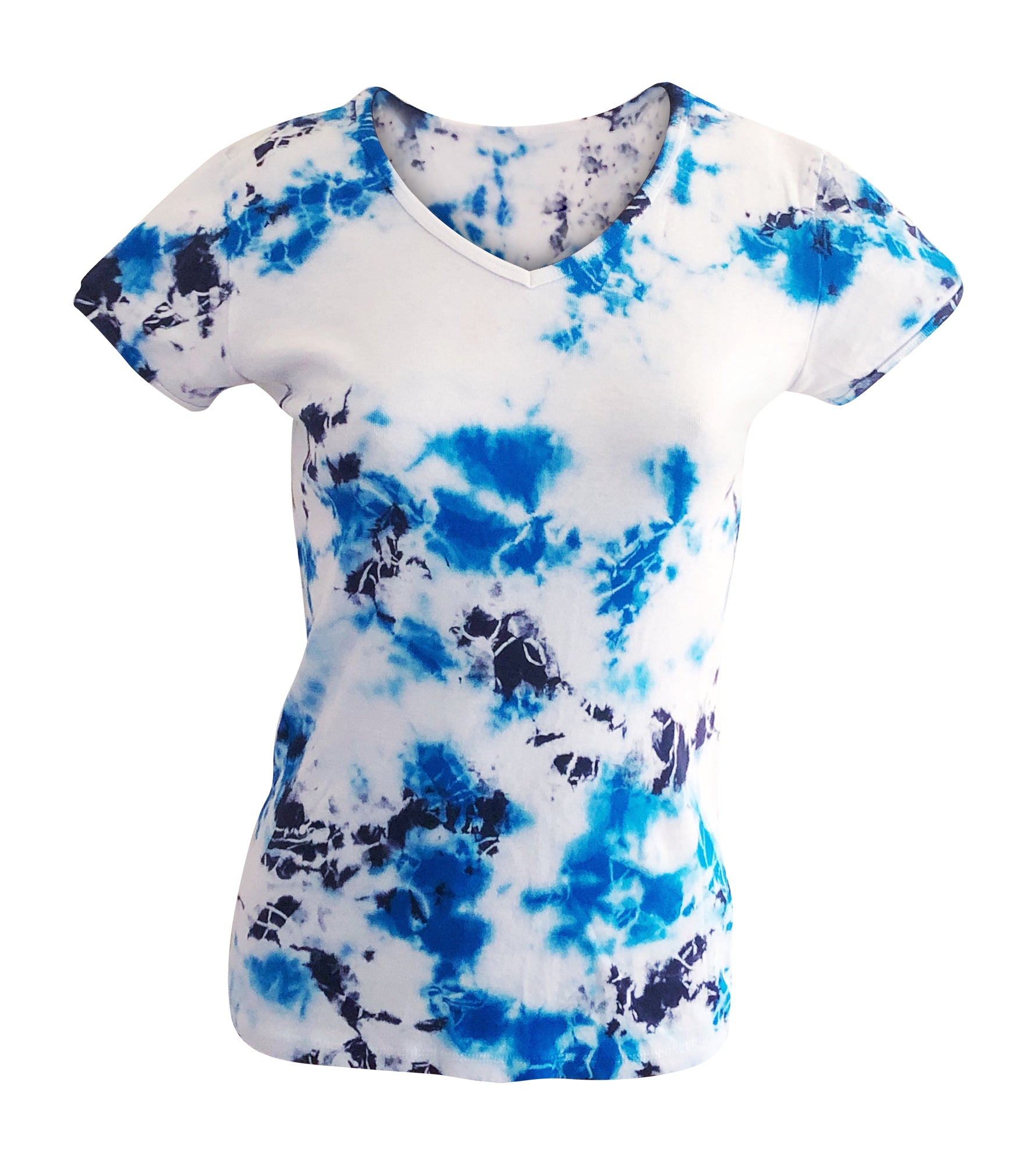 Women's Tie Dye Tee Short Sleeved
