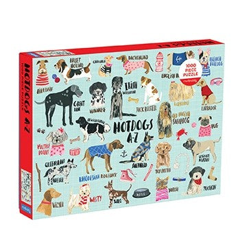 1000 Piece Hot Dogs A-Z Jigsaw Puzzle