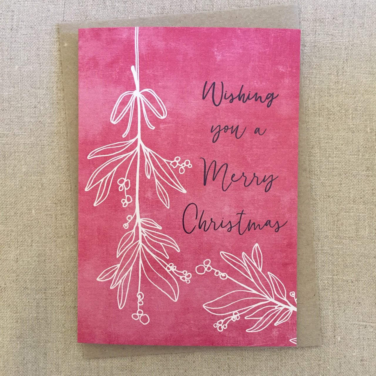 Merry Mistletoe Card