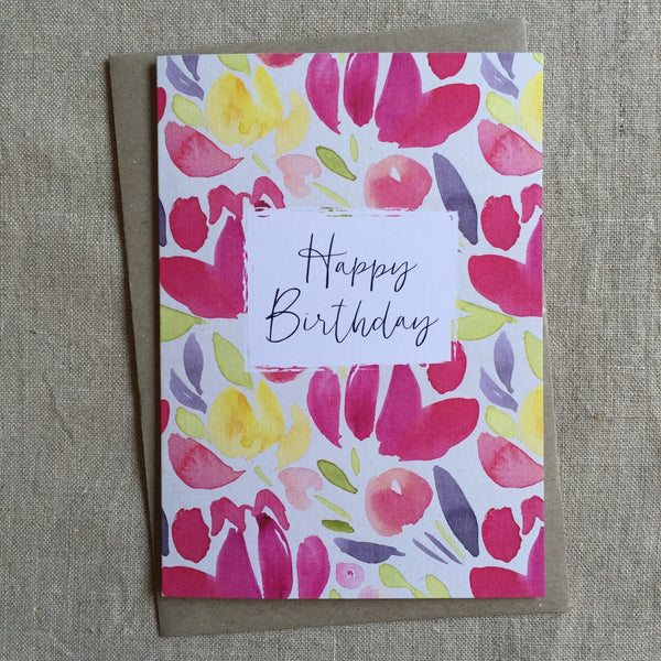 Birthday Blush Card