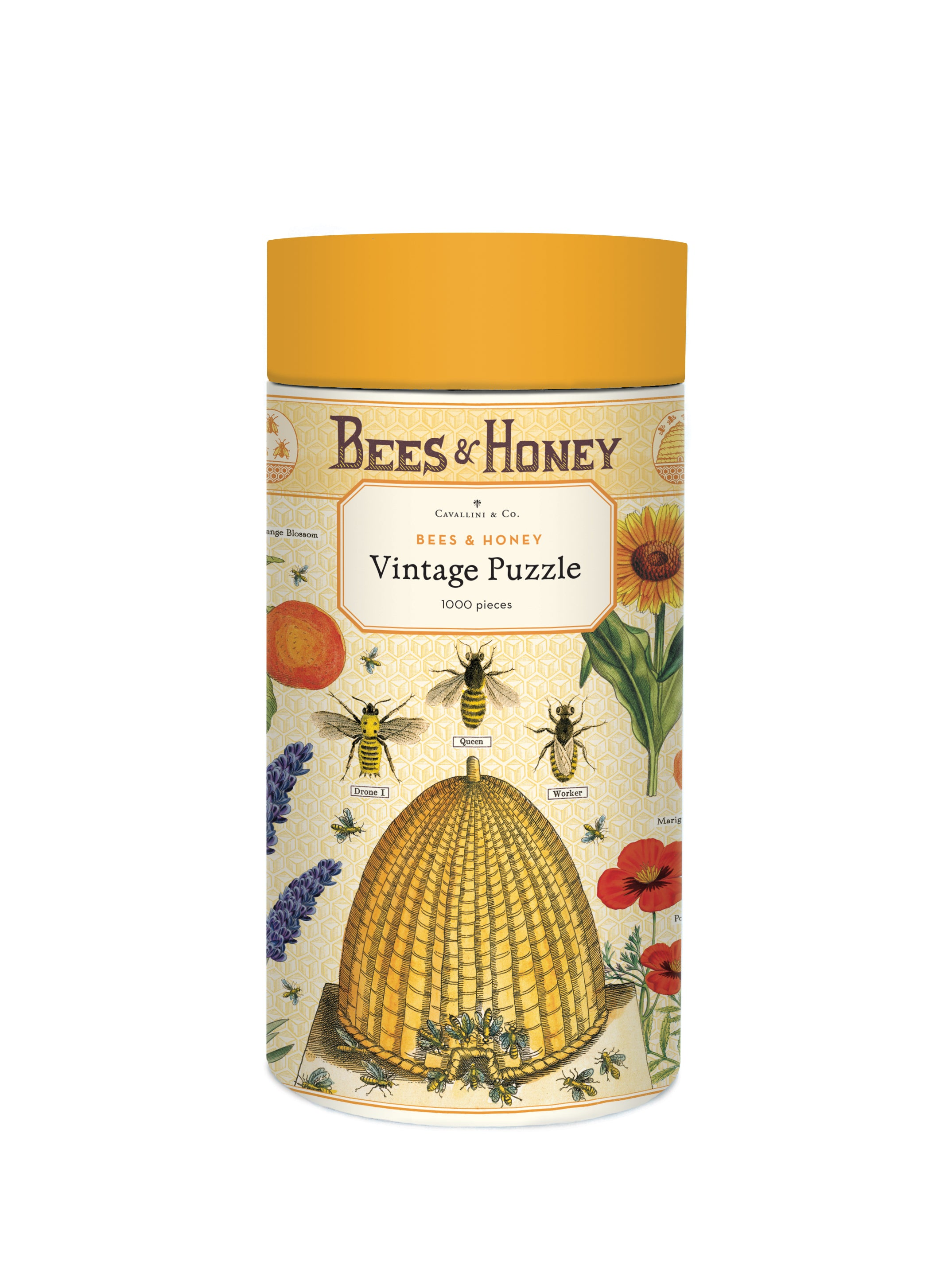 1000 Piece Cavallini Bees & Honey Puzzle