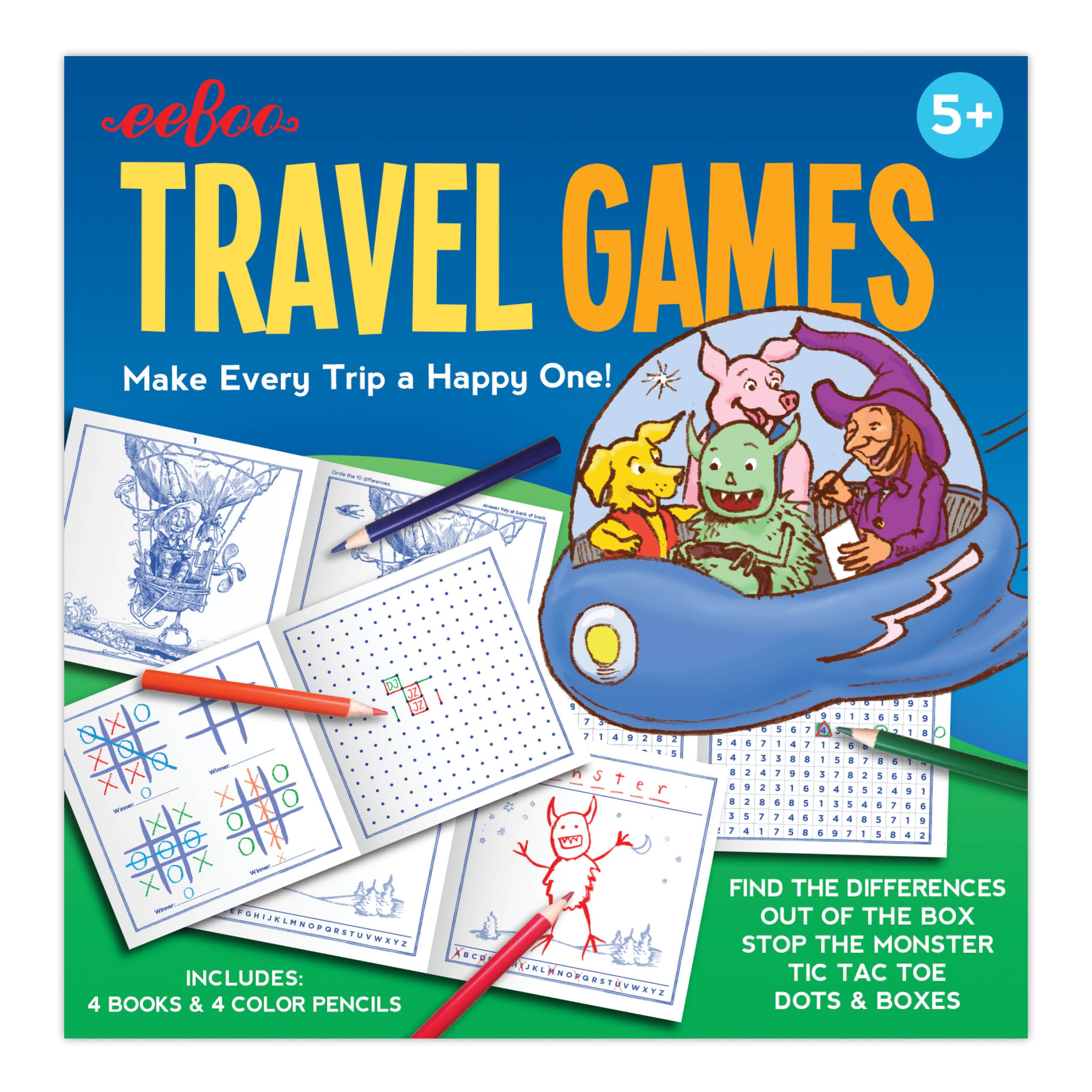 NEW!!!! Travel Games Set