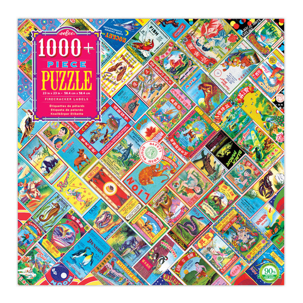 1008 Piece Firecracker Labels Jigsaw Puzzle