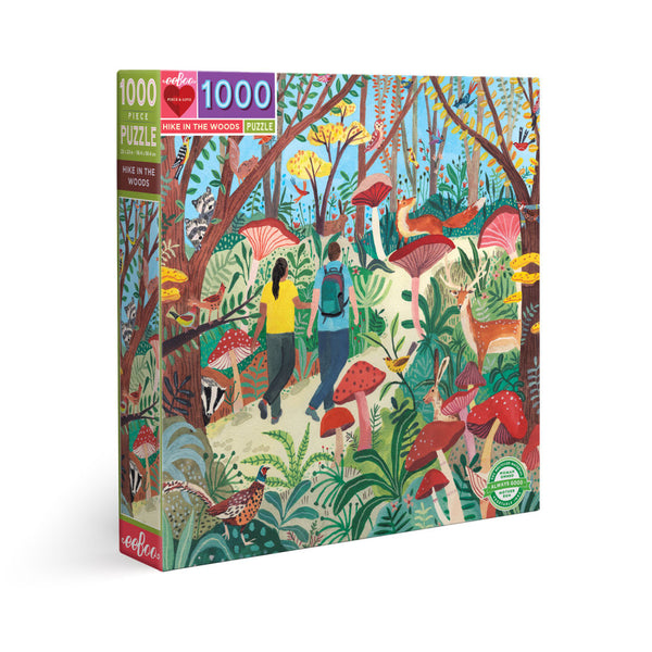 1000 Piece Eeboo Hike in the Woods Jigsaw Puzzle