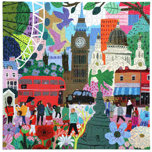 1000 Piece Eeboo London Life Jigsaw Puzzle