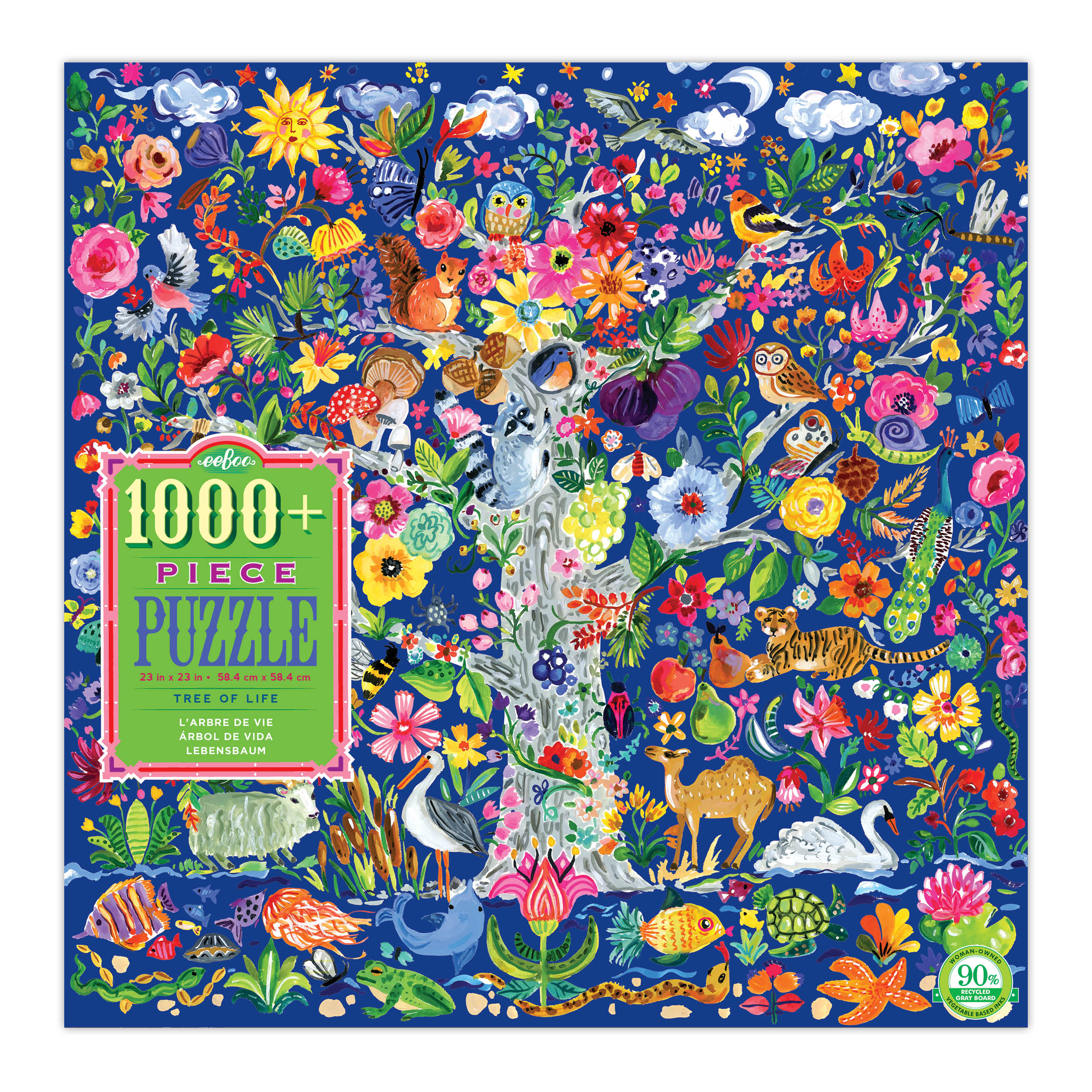 1008 Piece Tree of Life Jigsaw Puzzle
