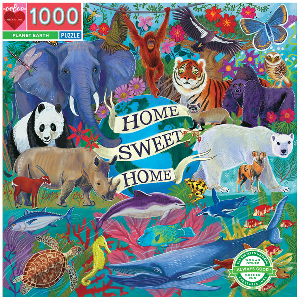 1000 Piece Planet Earth Puzzle