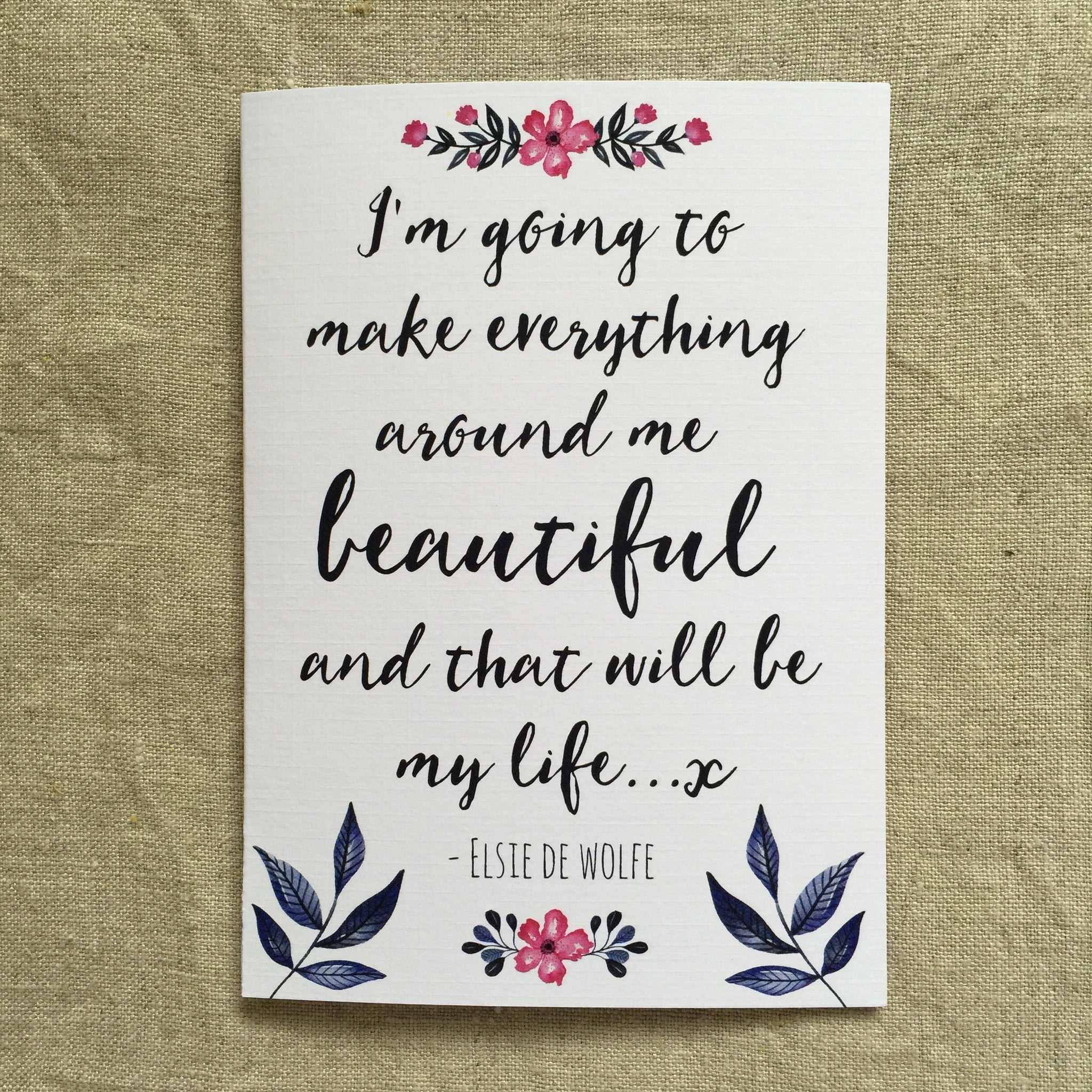 A Beautiful Life Card