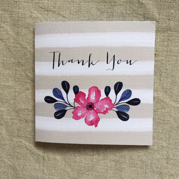 Petit Thank You Flowers Card