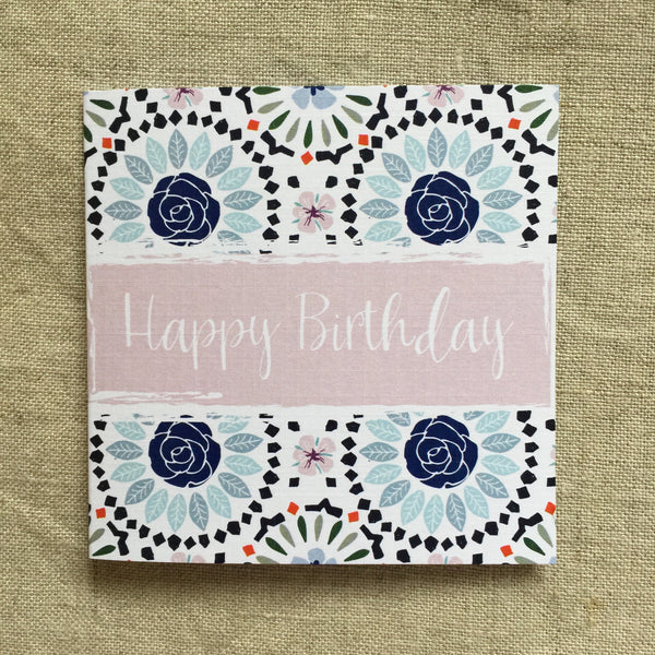 Petit Birthday Flowers Card