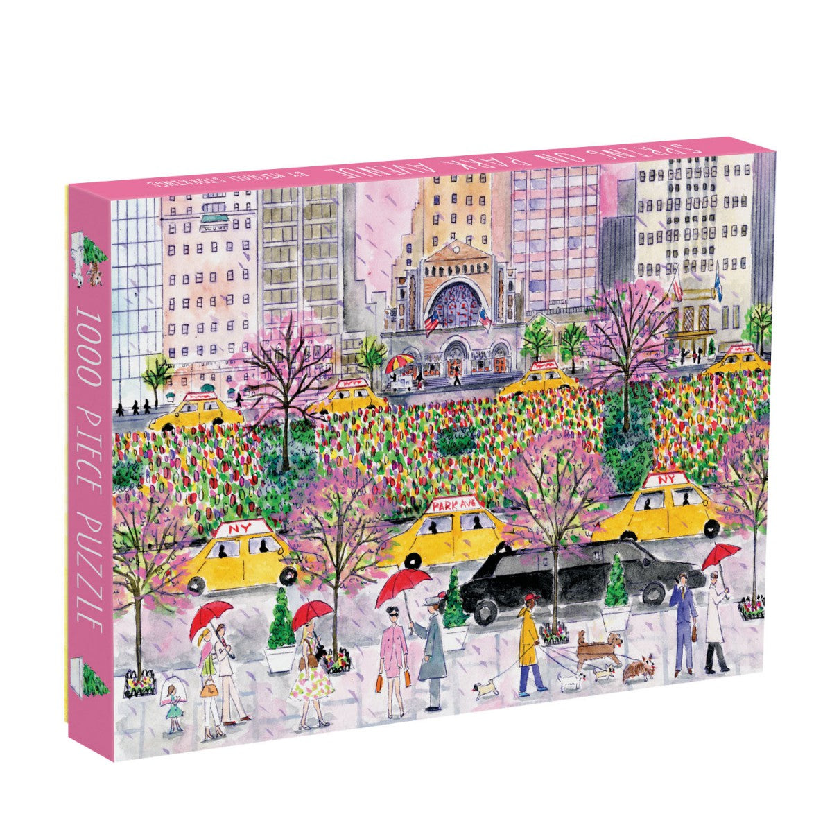 1000 Piece Galison Spring on Park Avenue Puzzle