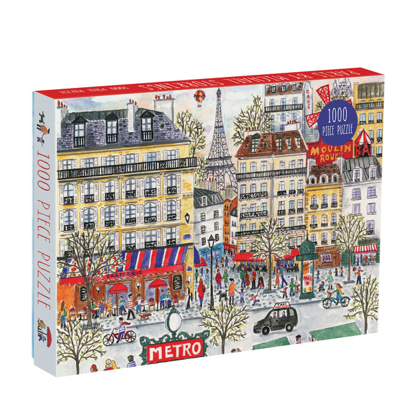 Galison 1000 Piece Jigsaw Puzzle - Spring on Park Avenue