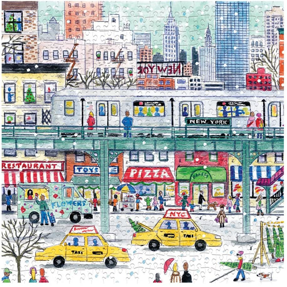 500 Piece Galison New York City Subway Puzzle