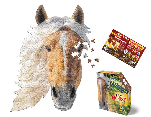 550 Piece I Am Horse Jigsaw Puzzle