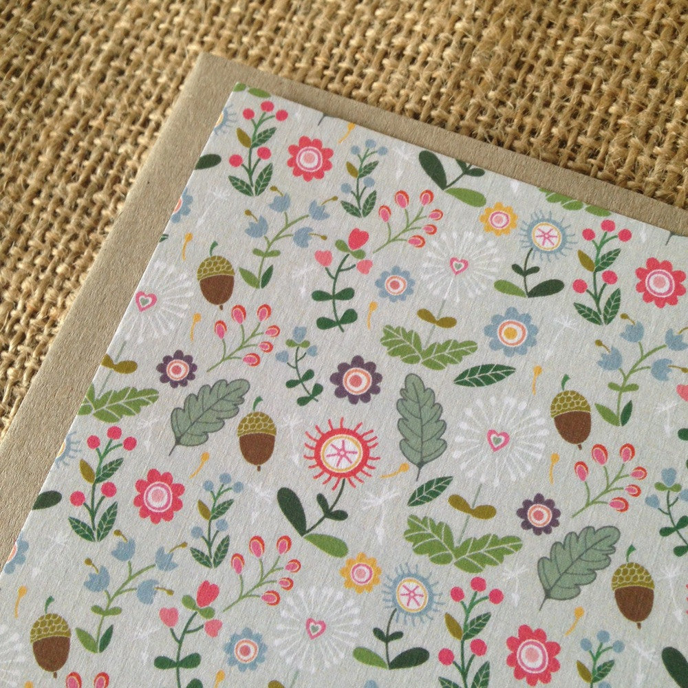 Miss Molly's Garden Notecard