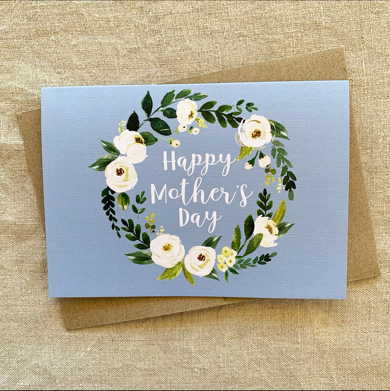 A6 Mother's Day Rose Card