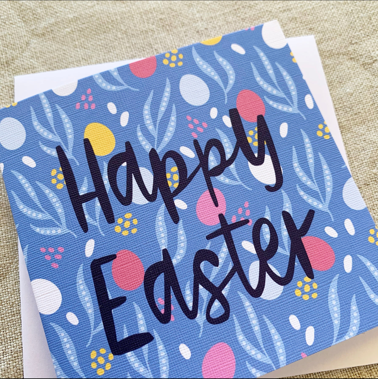 Petit Happy Easter Eggs Card
