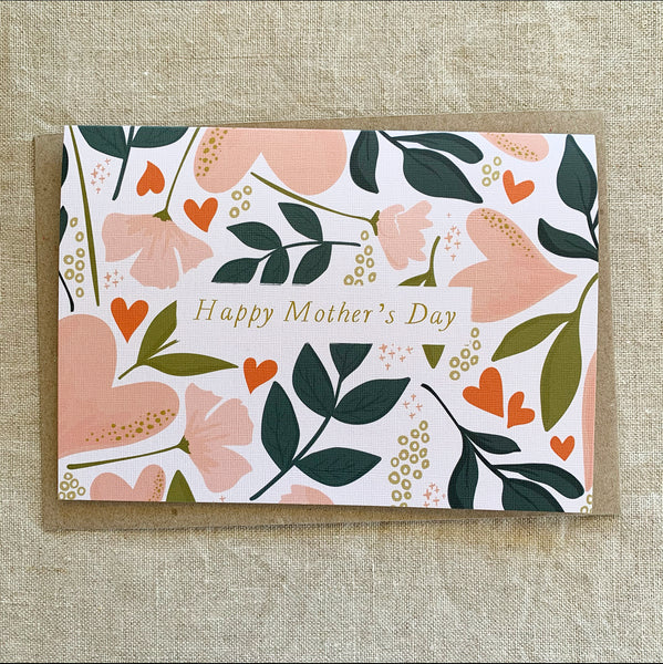 A6 Mother's Day Love Card