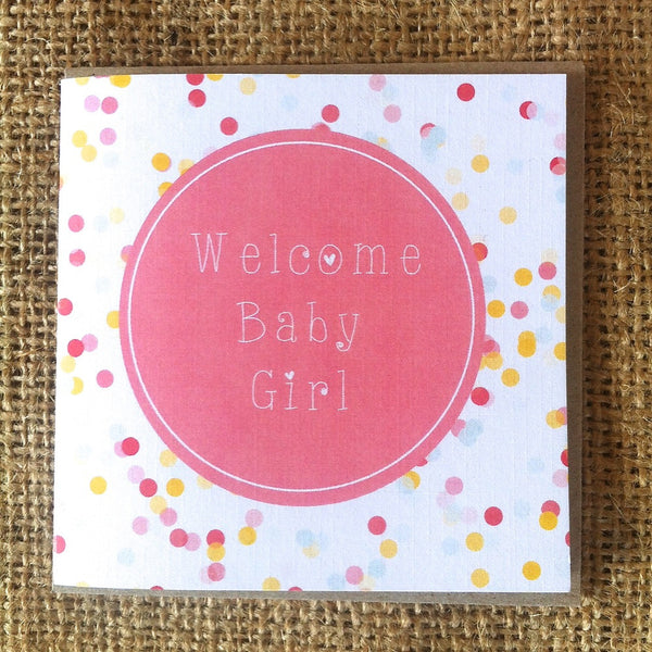 Petit Baby Girl Card