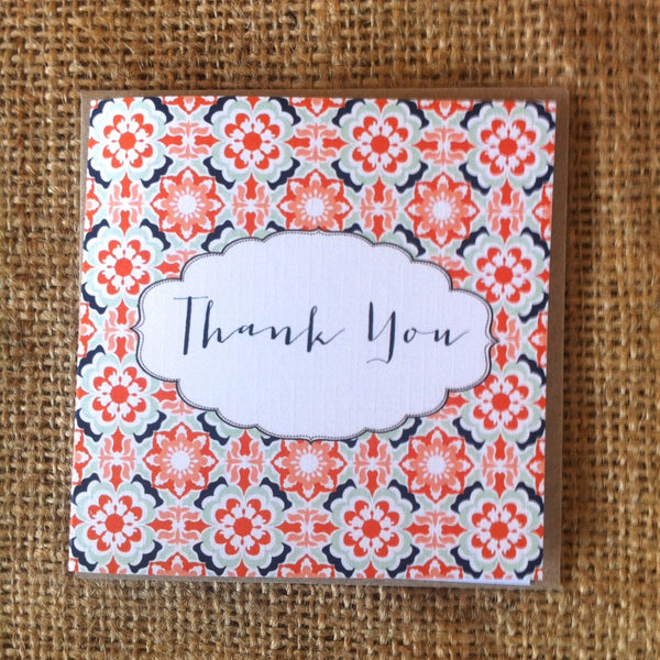 Petit Tribal Thank You Card