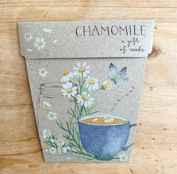 Chamomile Gift of Seeds Card