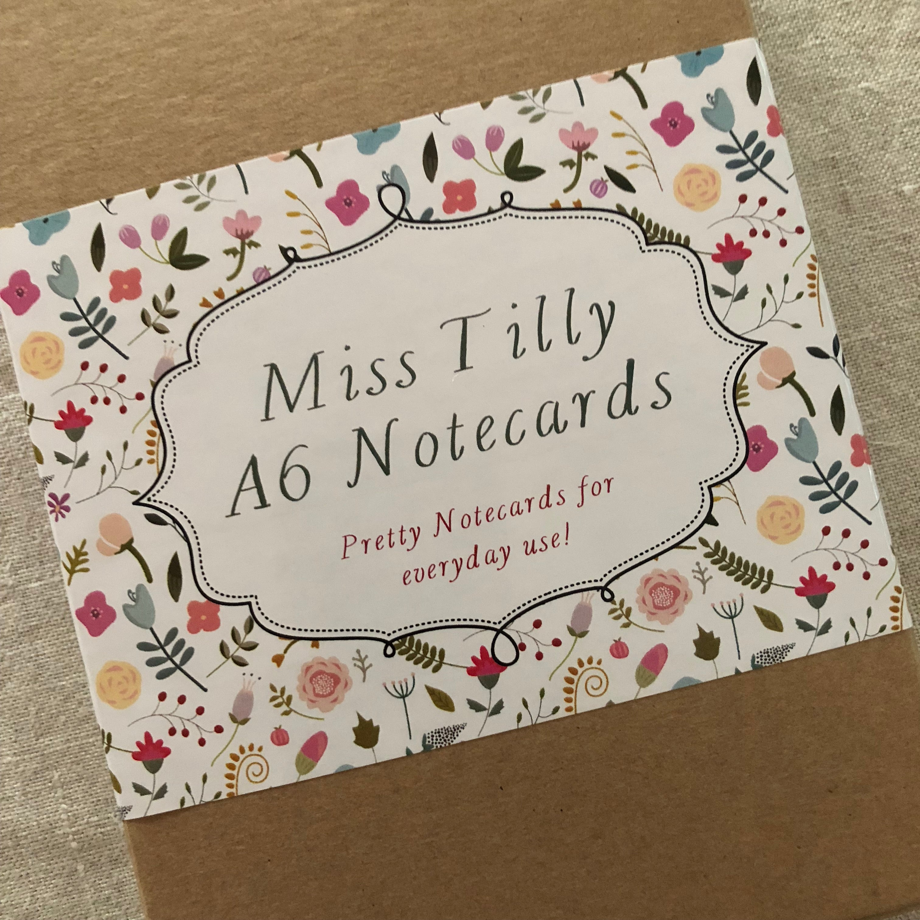 Miss Tilly A6  Notecard Boxed Set
