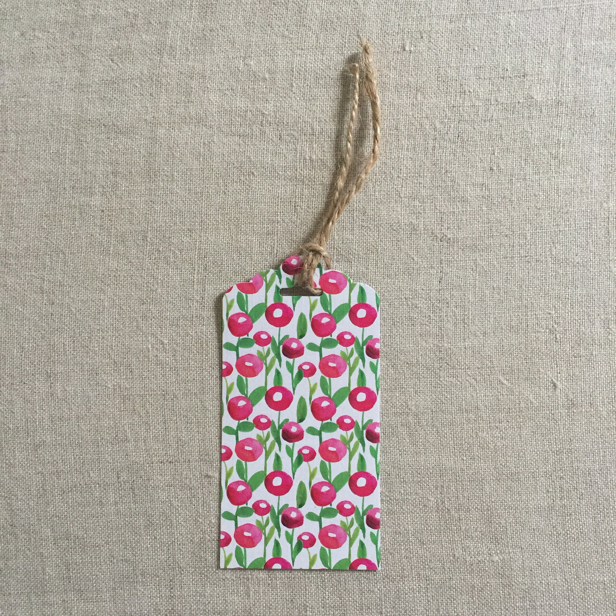 Cherry Bomb Gift Tag