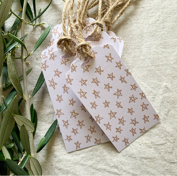 Star Gift Tags- Pack of Eight