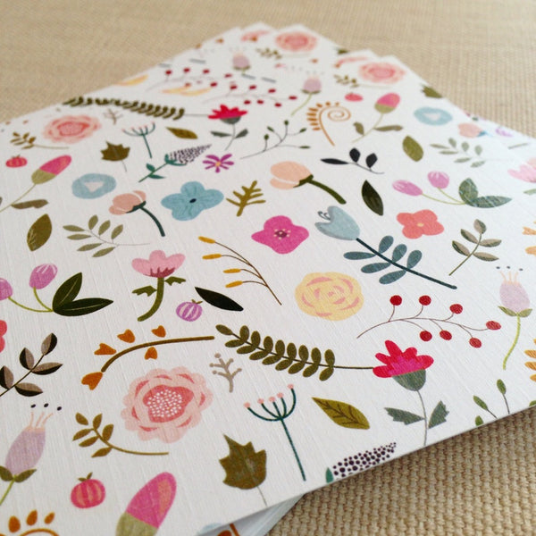 Miss Tilly's Garden Notecard