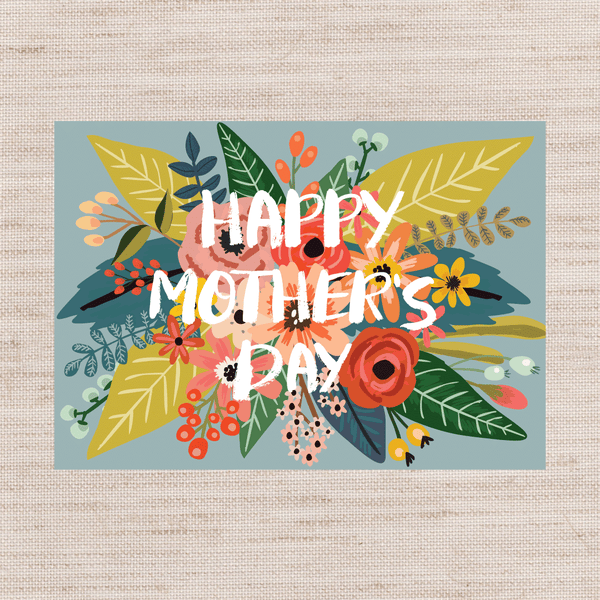 Mother's Day Bloom Card