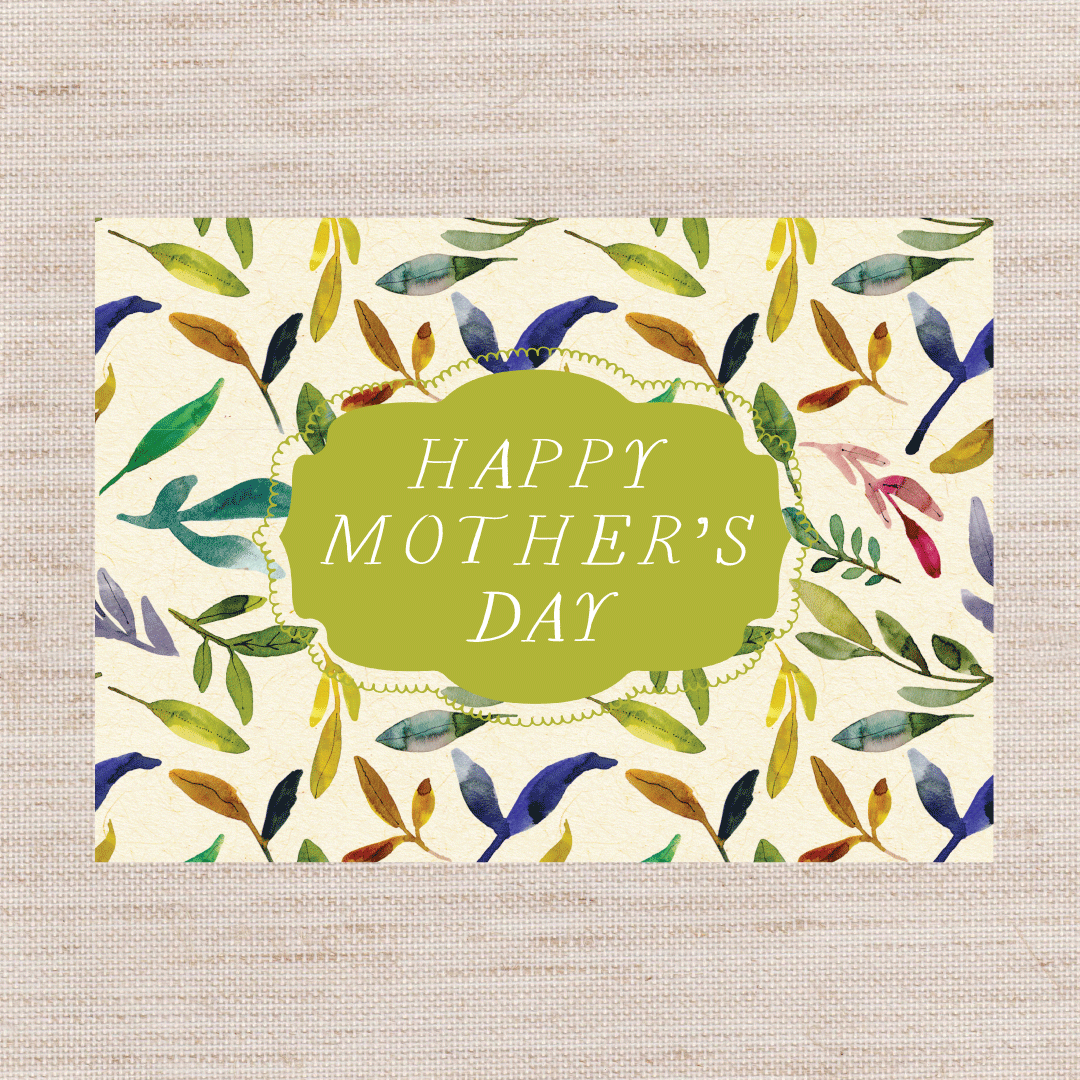 Mother's Day Leaf Card